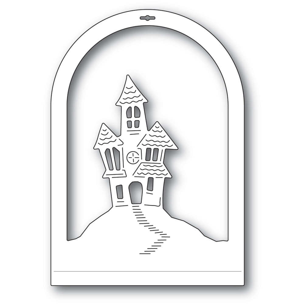 Memory Box HAUNTED HOUSE DOME LAYER Craft Die 94508 zoom image
