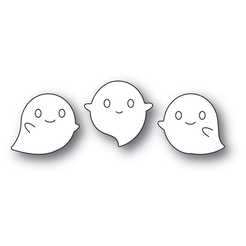 Poppy Stamps SQUEAKER GHOSTS Craft Dies 2264 Preview Image