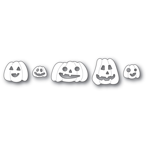 Poppy Stamps HAUNTING PUMPKINS Craft Dies 2267 Preview Image
