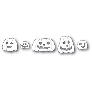 Poppy Stamps HAUNTING PUMPKINS Craft Dies 2267