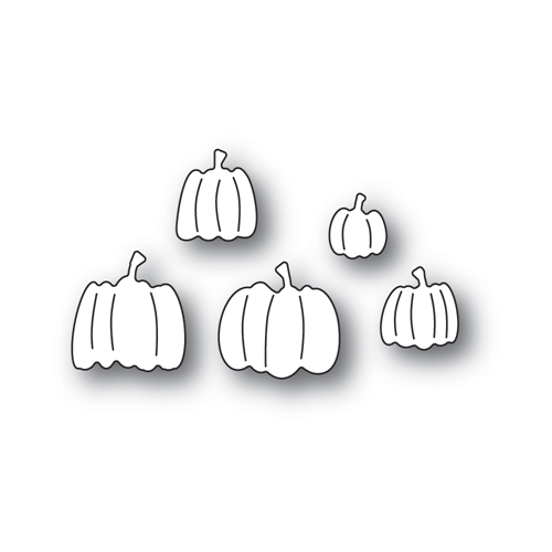 Poppy Stamps PILE OF PUMPKINS Craft Dies 2403 Preview Image