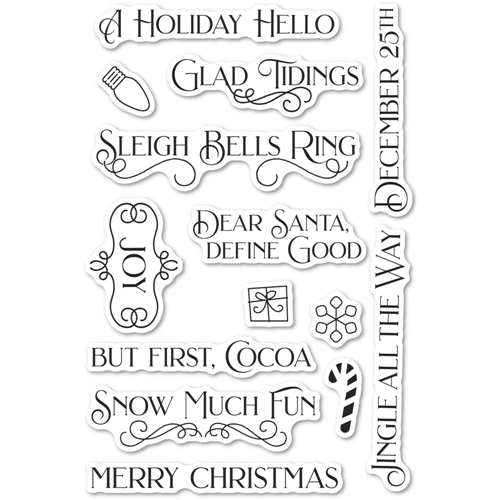 Poppy Stamps Clear Stamps CHRISTMAS FUN cl494 Preview Image