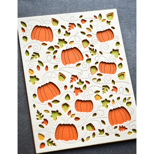 Birch Press Design AUTUMN BREEZE PLATE LAYER SET Craft Dies 56130 Preview Image