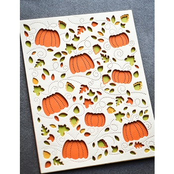 Birch Press Design AUTUMN BREEZE PLATE LAYER SET Craft Dies 56130