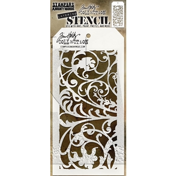 Tim Holtz Layering Stencil IRON WORKS THS148