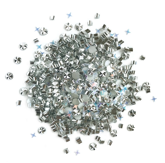 Buttons Galore and More DOO DADZ QUICKSILVER Embellishments DD103 zoom image