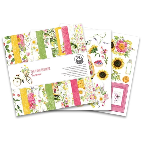 P13 The Four Seasons Summer 6x6 Paper Pad