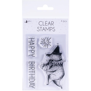 P13 HAPPY BIRTHDAY Clear Stamps P13-469