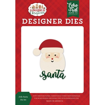 Echo Park JOLLY SANTA Die Set gc221040