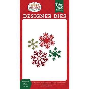 Echo Park SNOWFLAKE MAGIC Die Set gc221041