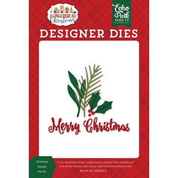 Echo Park CHRISTMAS BOUGHS Die Set gc221042