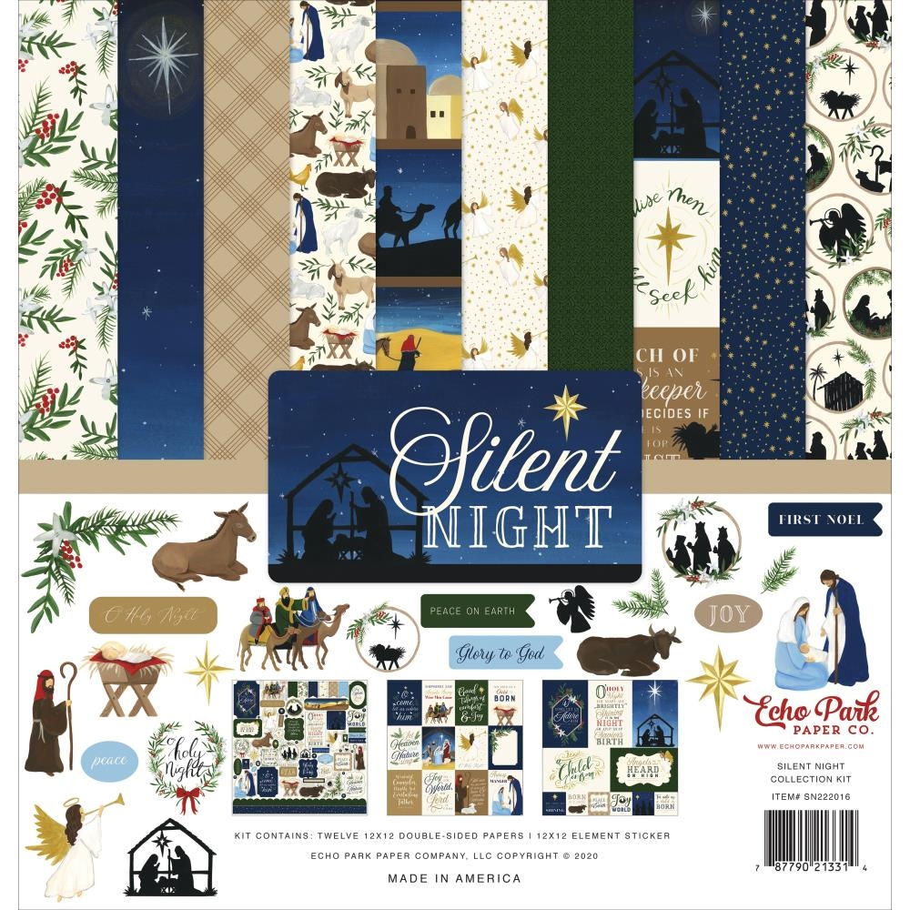 Echo Park SILENT NIGHT 12 x 12 Collection Kit sn222016 zoom image