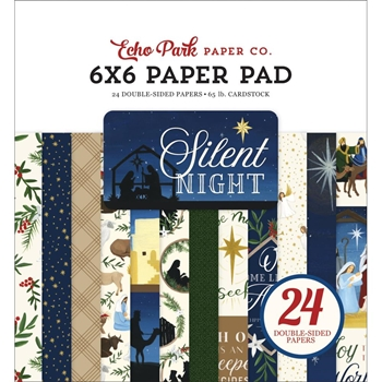 Echo Park SILENT NIGHT 6 x 6 Paper Pad sn222023