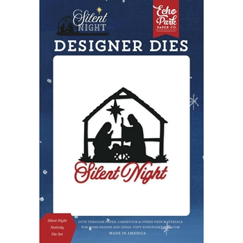 Echo Park SILENT NIGHT NATIVITY Die Set sn222040