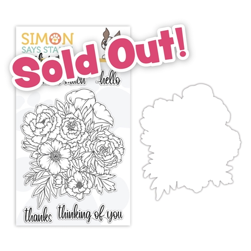 Studio Katia FLORAL BUNCH Clear Stamps and Dies STAMPtember 2020 Exclusive sssd112250c Preview Image