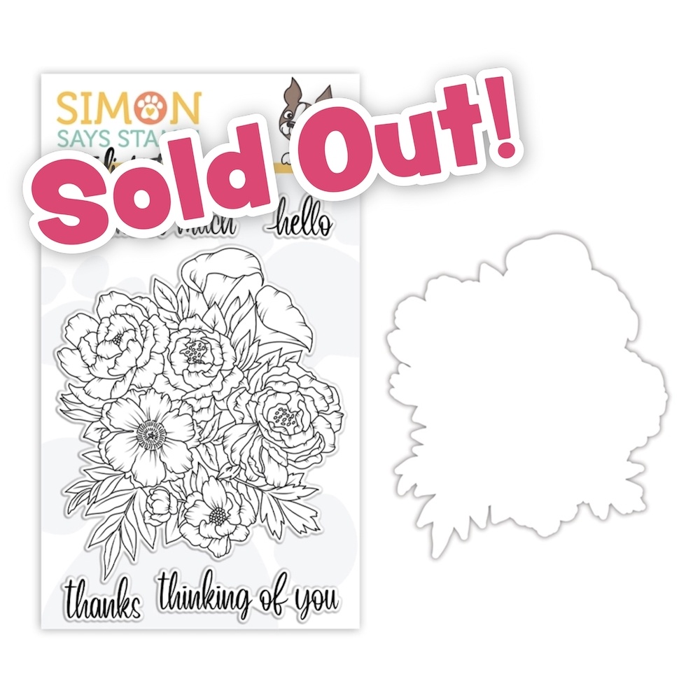 Studio Katia FLORAL BUNCH Clear Stamps and Dies STAMPtember 2020 Exclusive sssd112250c zoom image