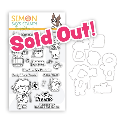 SugarPea Designs SHIVER ME TIMBERS Clear Stamps and Dies Stamptember 2020 Exclusive sssd112248c Preview Image