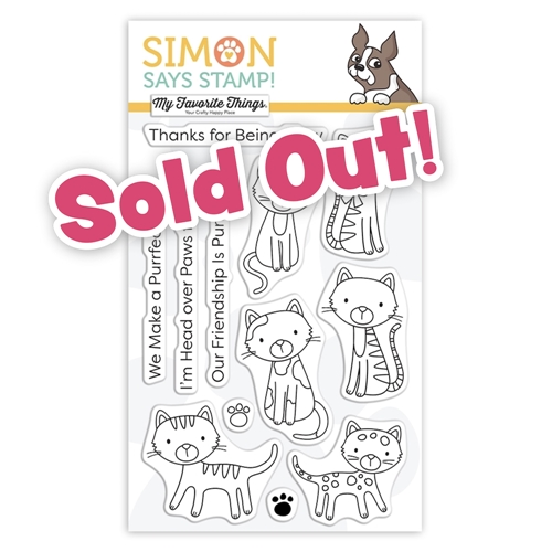 My Favorite Things PURRFECT FRIENDS Stamptember 2020 Clear Stamps Exclusive sss302200c Preview Image