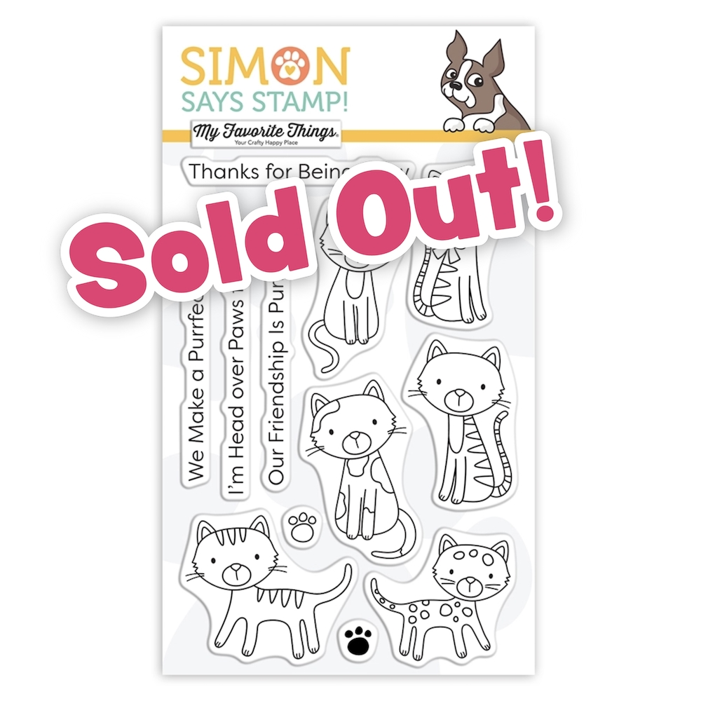 My Favorite Things PURRFECT FRIENDS Stamptember 2020 Clear Stamps Exclusive sss302200c zoom image