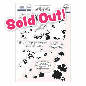 PinkFresh Studio CELEBRATE OUR DIFFERENCES Stamptember 2020 Exclusive Clear Stamps sss202211c