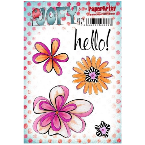 Paper Artsy JOFY 95 Cling Stamps jofy95 Preview Image