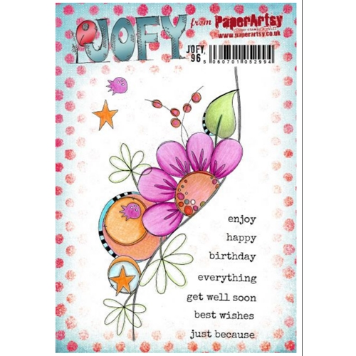 Paper Artsy JOFY 96 Cling Stamps jofy96 Preview Image
