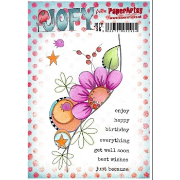 Paper Artsy JOFY 96 Cling Stamps jofy96