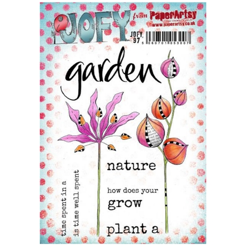 Paper Artsy JOFY 97 Cling Stamps jofy97 Preview Image