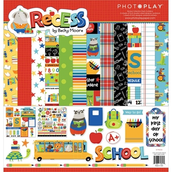 PhotoPlay RECESS 12 x 12 Collection Pack rec2398*