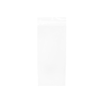 Clear Bags SLIMLINE 4.625 x 9.75 Inch Flap Seal Close Pack of 100 b4x9