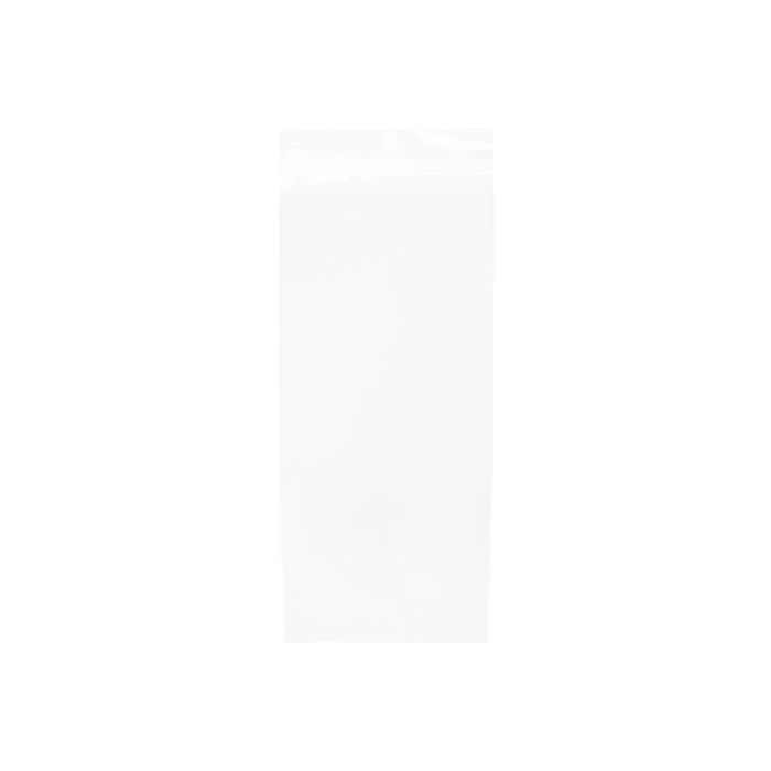 Clear Bags SLIMLINE 4.625 x 9.75 Inch Flap Seal Close Pack of 100 b4x9 zoom image