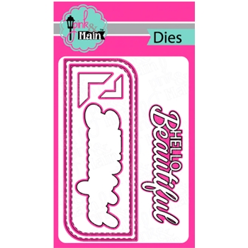 Pink and Main BEAUTIFUL SLIMLINE Dies PNM294