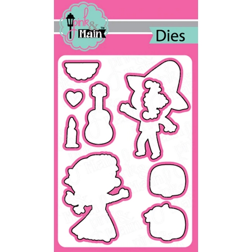 Pink and Main DAY OF THE DEAD Dies PNM288 Preview Image