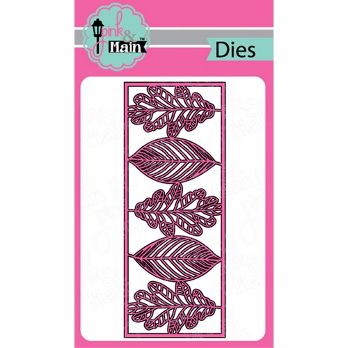 Pink and Main LEAFY SLIMLINE Dies PNM287 Preview Image