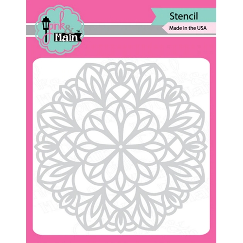 Pink and Main MANDALA Stencil PMS029 Preview Image