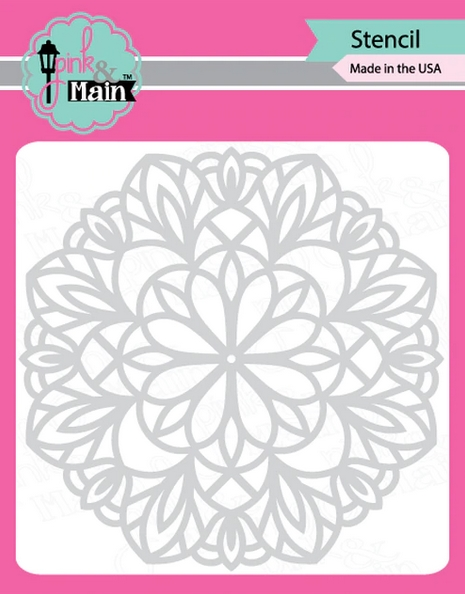 Pink and Main MANDALA Stencil PMS029 zoom image