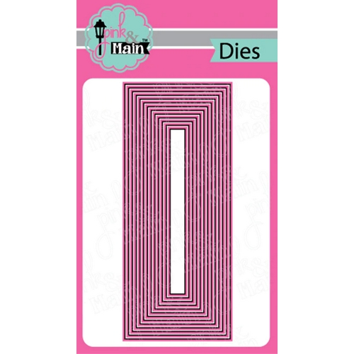 Pink and Main LAYERED SLIMLINE Dies PNM295 Preview Image