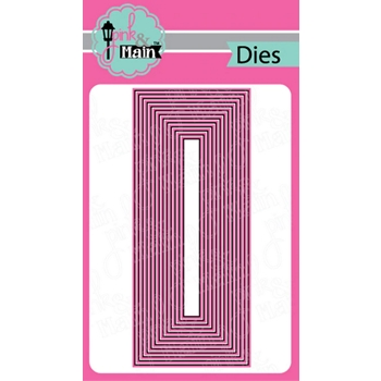 Pink and Main LAYERED SLIMLINE Dies PNM295