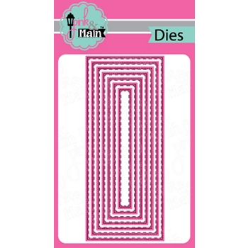 Pink and Main STITCHED SLIMLINE Dies PNM291