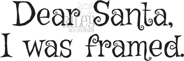 Riley and Company Funny Bones I WAS FRAMED Cling Rubber Stamp RWD-829 zoom image