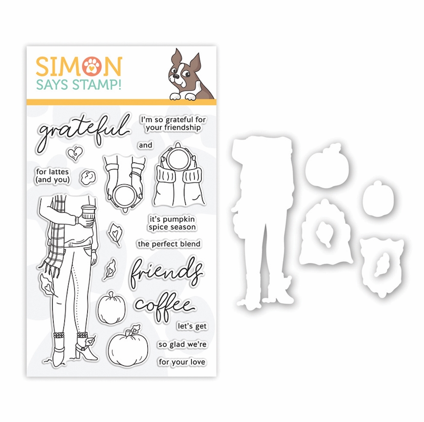 Simon Says Stamps and Dies PUMPKIN SPICE SEASON set351pss ** zoom image