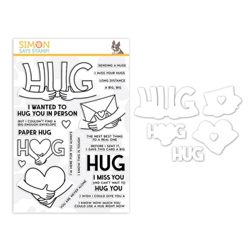Simon Says Stamps and Dies PAPER HUG set344ph Stamptember