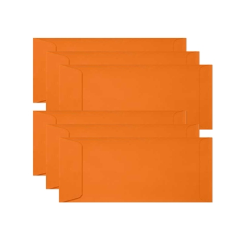 Simon Says Stamp Envelopes SLIMLINE ORANGE PEEL Open End sss74