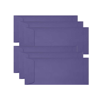Simon Says Stamp Envelopes SLIMLINE BLUE VIOLET Open End sss72