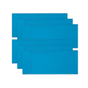 Simon Says Stamp Envelopes SLIMLINE BLUE LAGOON Open End sss75