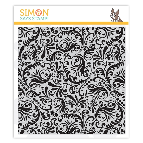 Simon Says Stamp Damask Cling Stamp