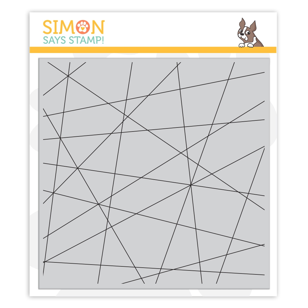 Simon Says Cling Stamp FRACTURED BACKGROUND sss102135 Stamptember zoom image