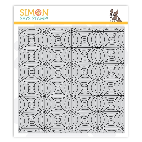 Simon Says Cling Stamp LANTERN PATTERN sss102241 Stamptember Preview Image