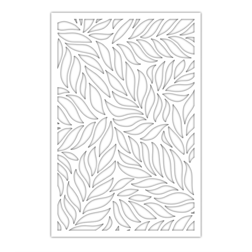 SSS Floating Leaves Stencil