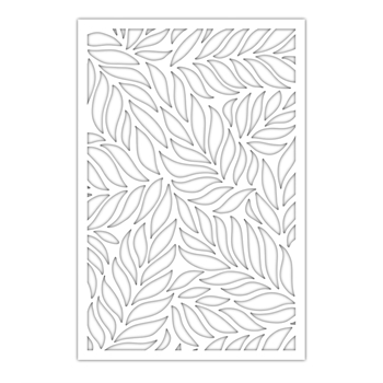 Simon Says Stamp Stencil FLOATING LEAVES SLIMLINE ssst121497 Stamptember